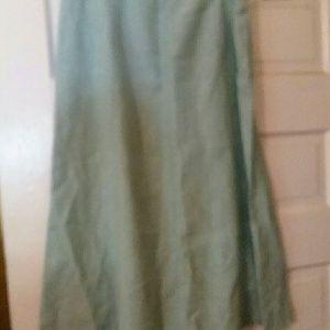 Kate Hill linen skirt